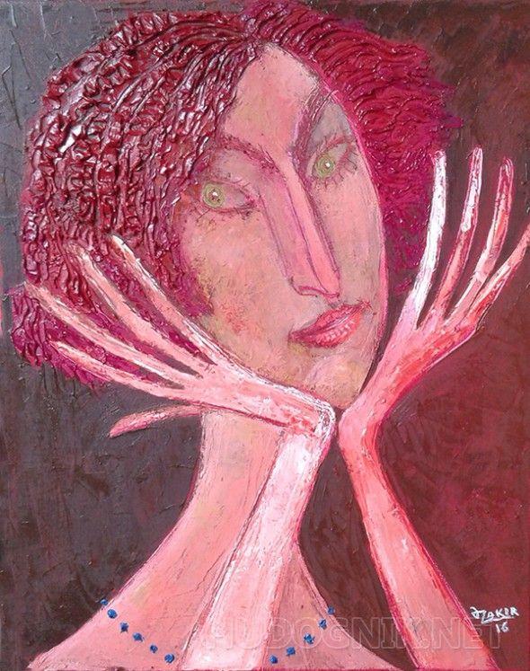 Daydreamer Daydreamer2016 Original Painting Oil on Canvas48x38cm2500$