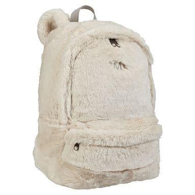 Fur Polar Bear Backpack Potterybarnteen You Ve Got To Be