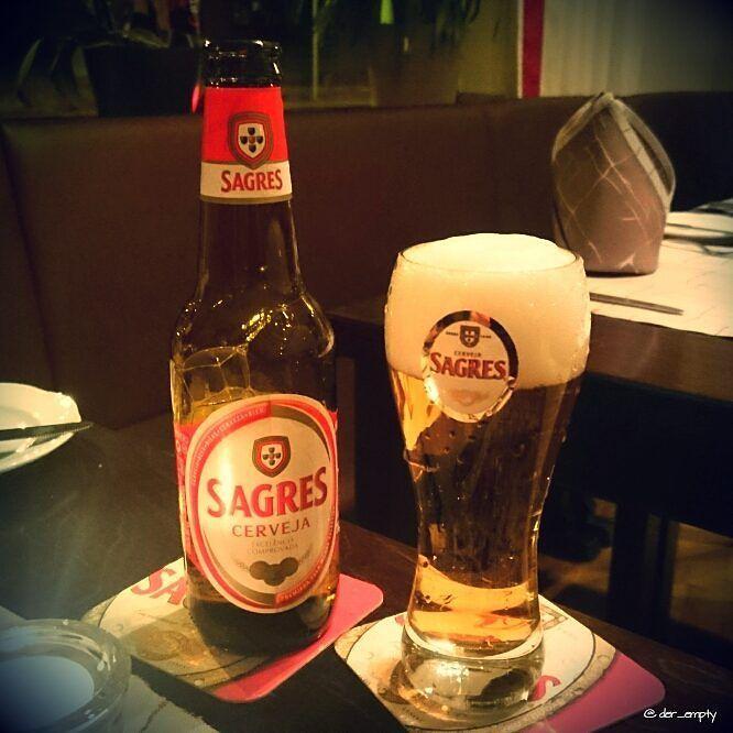 Sagres Cerveja from portugal #Sagres #beer #bier #beerblog