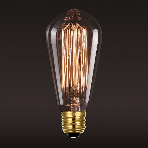 Inspired by the historical squirrel cage design, a version of original shape created by Thomas Edison, with vertical filaments