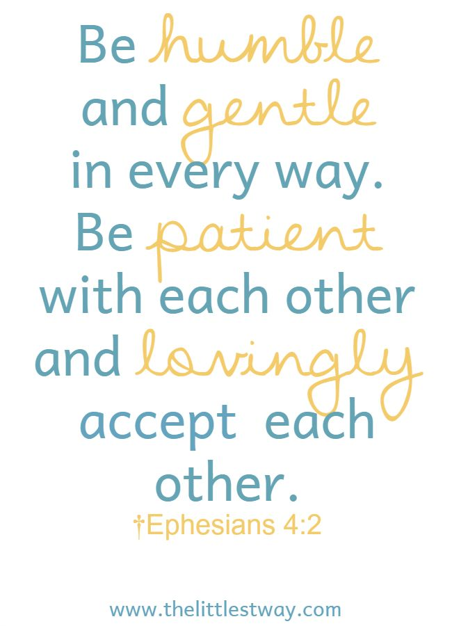 bible verse about understanding each other