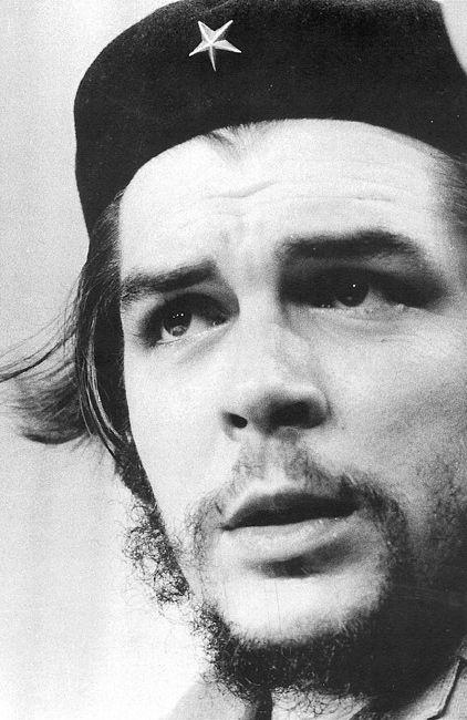 Nuestro cliente más ilustre, Ernesto Che Guevara con su famosa boina que compró…