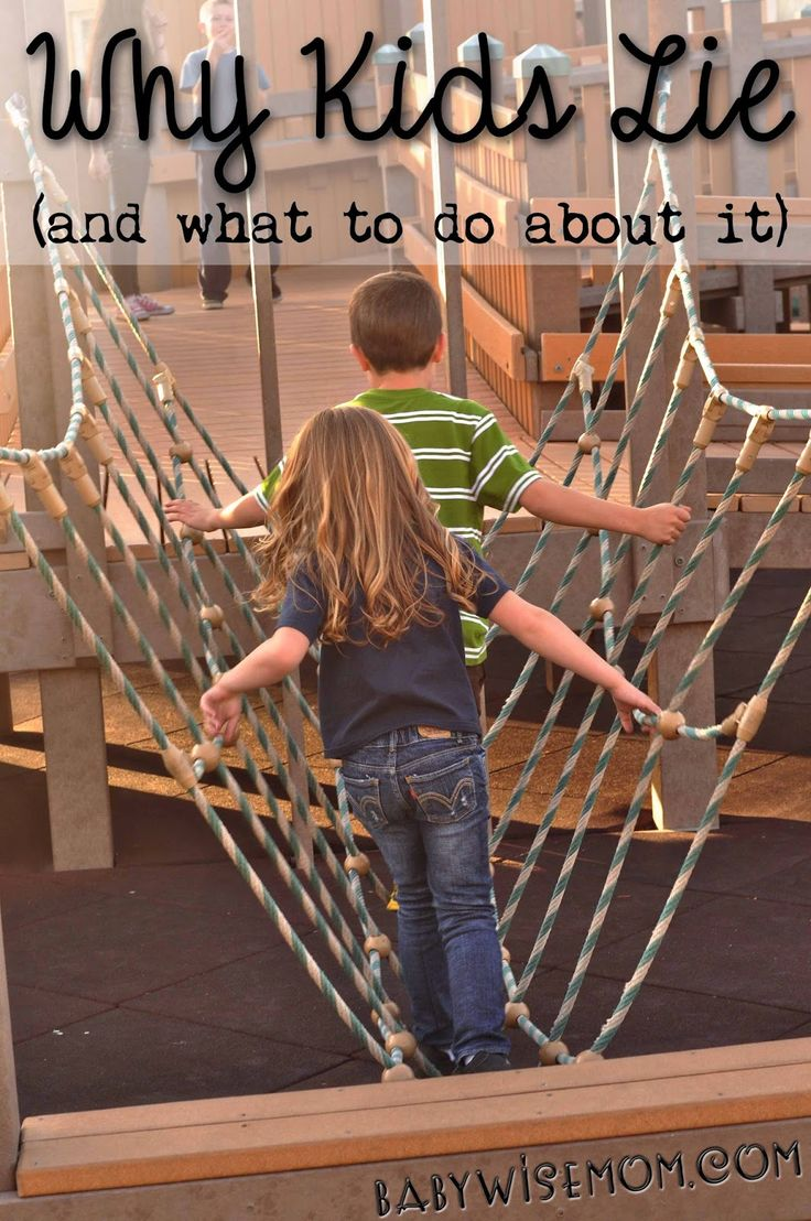 Why Kids Lie (and what to do about it). This post has lots of information on lying as well as things to do to help prevent lying.