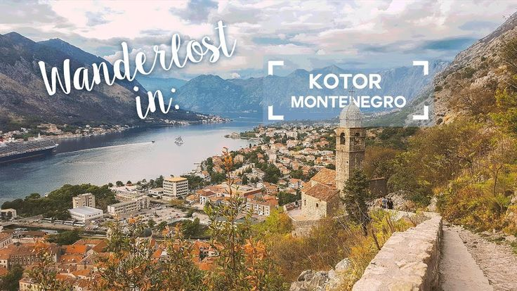 Montenegro part 3 - Exploring Kotor and hiking up to the fortress!