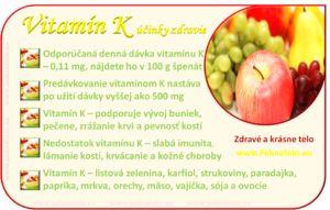 Info Vitamín K