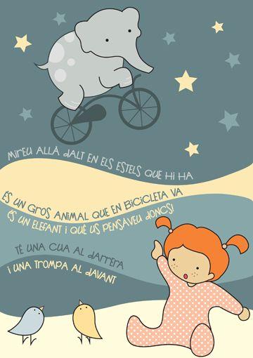 Il·lustració amb cançoner infantil