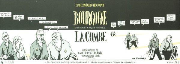 Marc-Antoine MATHIEU - Derain Bourgogne Blanc La Combe