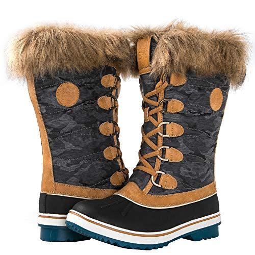 sports shoes b8d8f 3726f GLOBALWIN Women's 1837 Camel Winter Snow Boots 7.5M | Tall ...