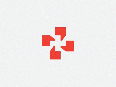 Symbol combining a medical cross and quotation marks / speech bubbles. It's for a company that produces materials to help paramedics translate during medical emergencies when a language barrier is present. -Jeffrey Devey