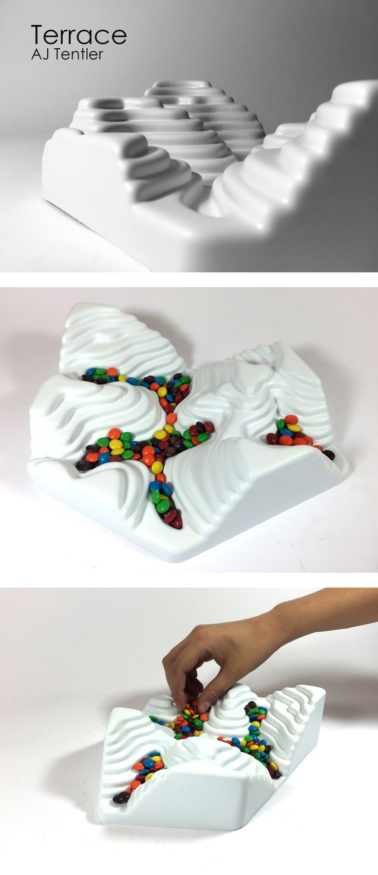 Vacuum Formed candy dish. Industrial Design                                                                                                                                                                                 More