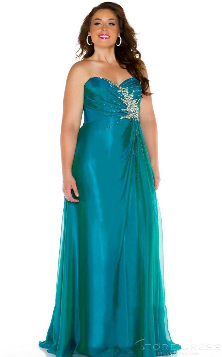 Aurora prom dresses plus size