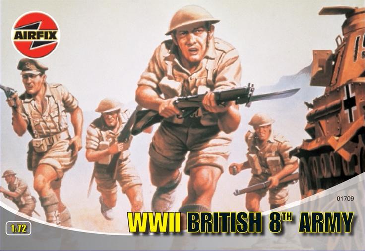 Airfix 1:72 WWII British 8th Army