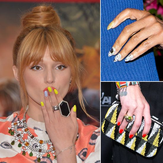 Celebrity Nail Artist: 69 Best Celebrity Nails Images On Pinterest