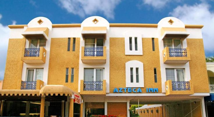Hotel Azteca Inn Mazatlan This property is located steps away from the beach, in the heart of the Golden Zone, the exclusive tourist area of Mazatlan. Shopping, golf, fine-dining and entertainment are minutes away.