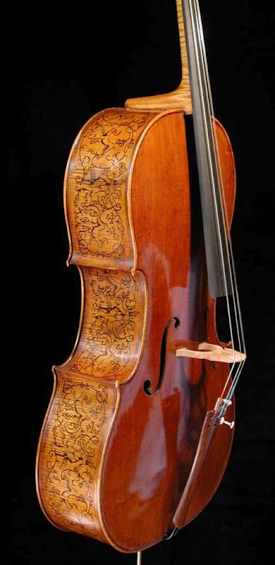 Stradivari's Marylebone cello, 1688 gorgeous