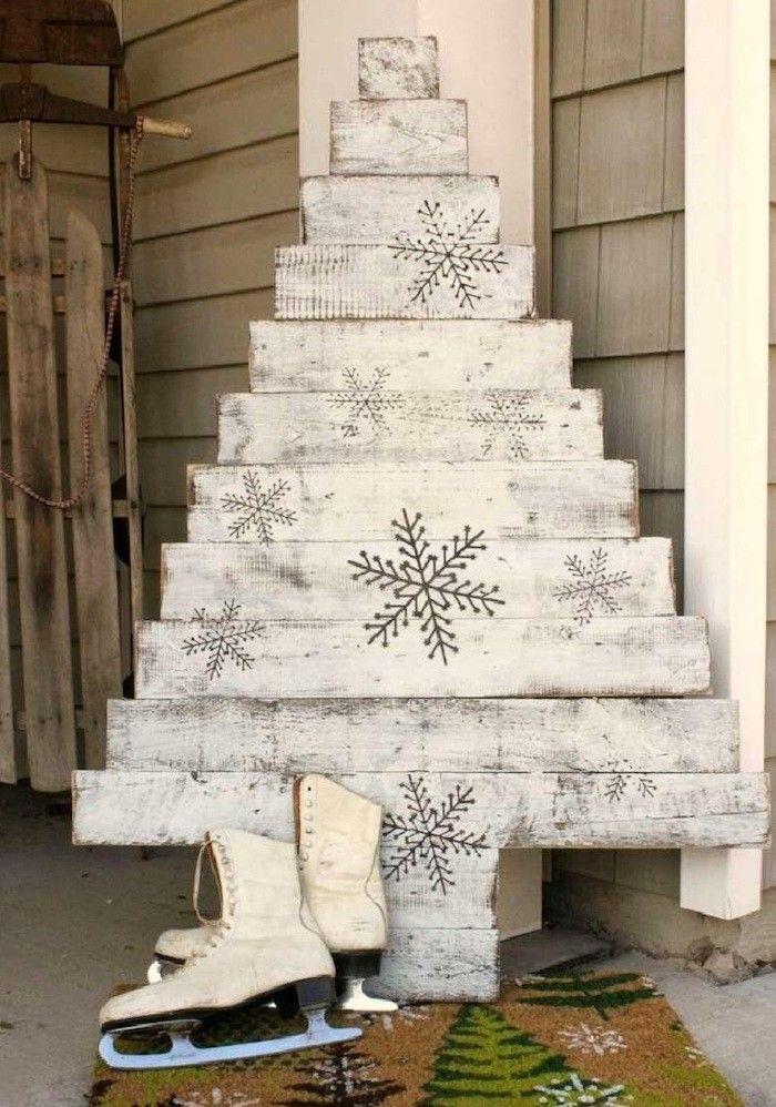 die besten 25 palette weihnachtsbaum ideen auf pinterest weihnachtsbaum sockel paletten. Black Bedroom Furniture Sets. Home Design Ideas