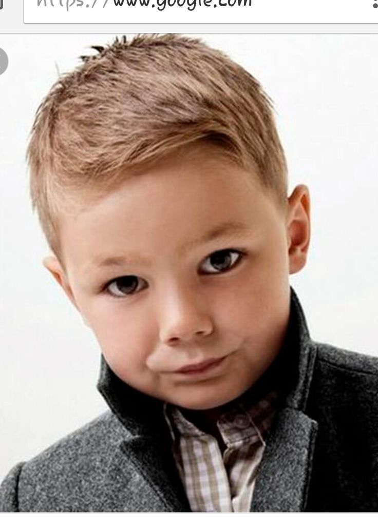 Image Result For Little Boys Haircuts For Fine Hair Toddler Boy