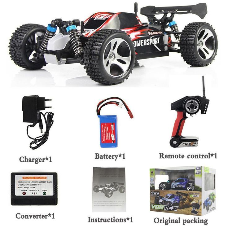 Electric Remote Control Car 45KM/H High Speed Off Road Racing Car Nitro Rc Truck Toy For Children