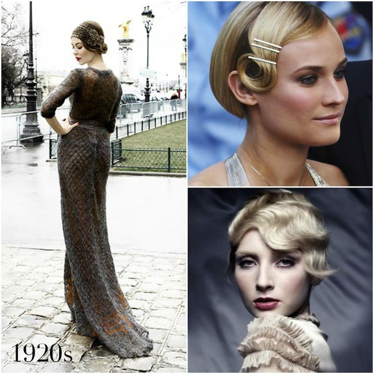 Vintage Wedding Hairstyles: 127 Best 1920's Hairstyles Images On Pinterest