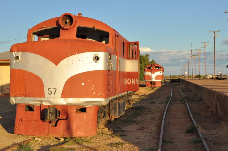 The old Ghan at Marree, SA - Oodnadatta Track http://traveloutbackaustralia.com/outback-destinations/oodnadatta-track.html