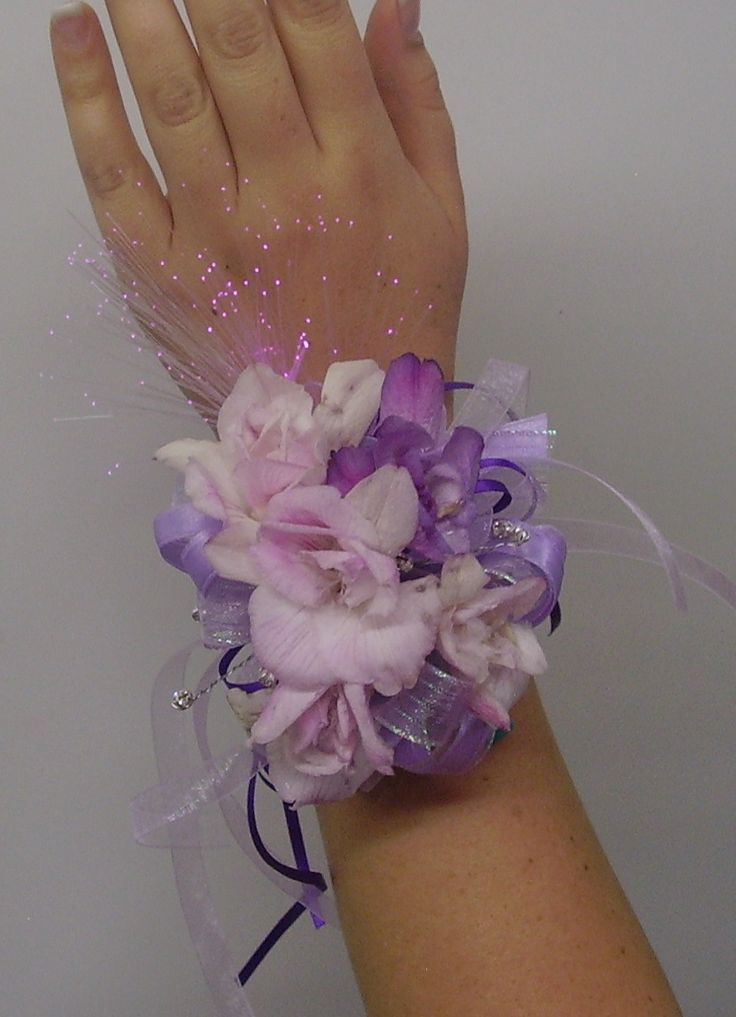 Pink And Purple Prom Corsage   Educational Games And Toys