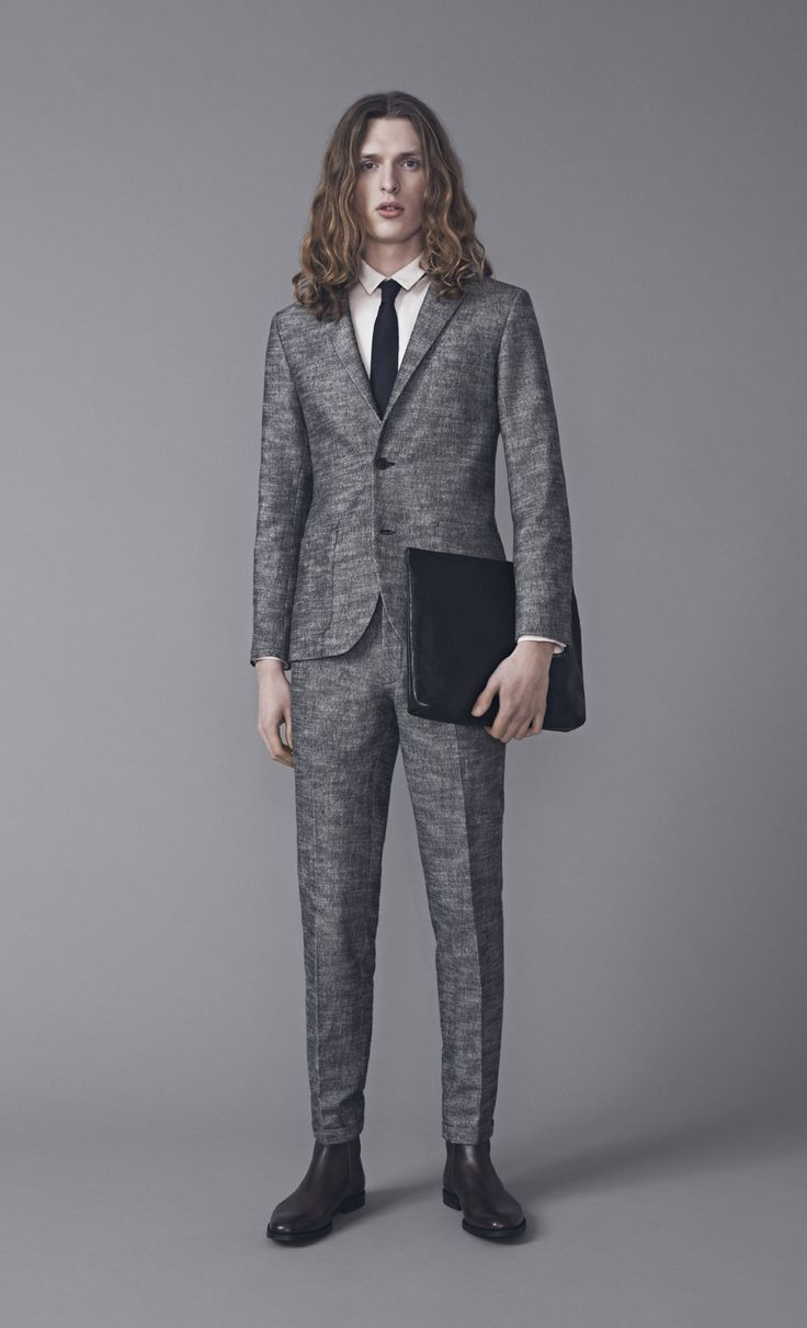 Frank Blazer, Keith Shirt and Presley Trousers | Samuji Man FW15 Collection