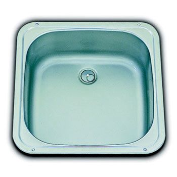 Buy A Smev Compact Square Caravan Sink + Waste And Seal | Smev Sinks |  Leisureshopdirect