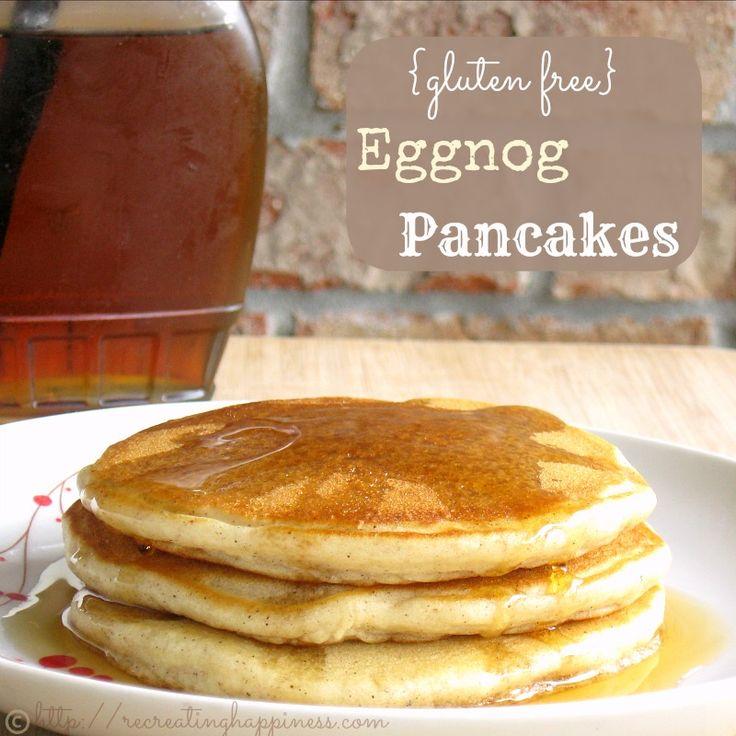 Eggnog Pancakes   Gluten Free