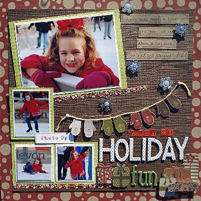 A Lot of Holiday Fun Layout