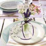 Tischdeko mit Lavendel: Speisen wie in der Provence