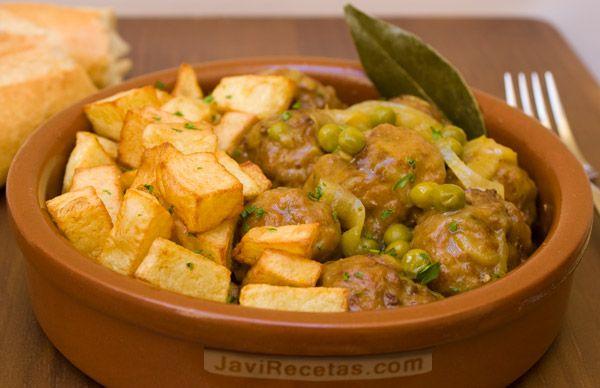 Albóndigas en salsa de Javi Recetas (mis famosas albóndigas se las debo a Javi y a esta receta)