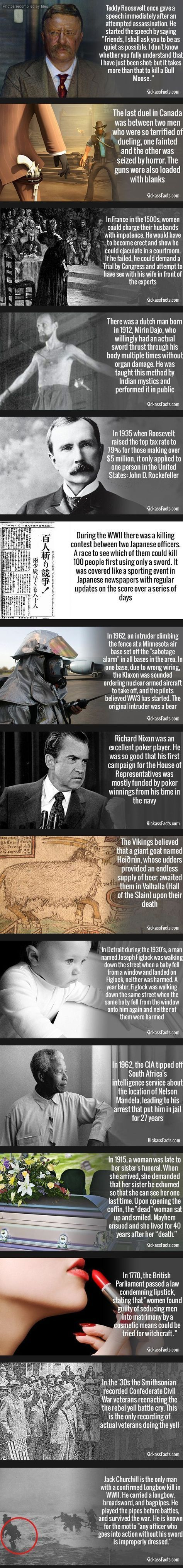Strange history facts // funny pictures - funny photos - funny images - funny pics - funny quotes - #lol #humor #funnypictures