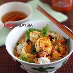 Vietnamese Bbq Shrimp Vermicelli Recipe (bun Tom Heo Nuong) (via www ...