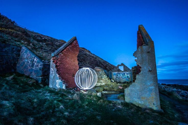 Can anyone guess where this mysterious orb was found? Book our Level 2 Light Painting workshop with @danielmcavoy and @suzstrachan.