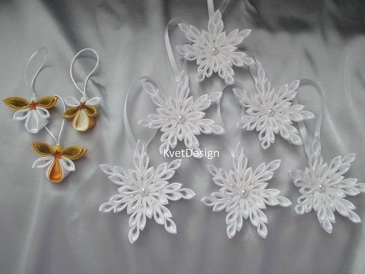 Dekorácie - Snehové vločky biele - 8528823_