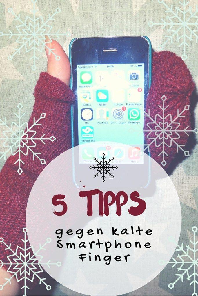 5 Tipps gegen kalte Smartphone Finger. Wie  bedient man ein iPhone mit Handschuhen? Sind Spezialhandschuhe oder fingerlose Handschuhe eine Lösung? Was kann ich mit Siri oder Kopfhörern machen?