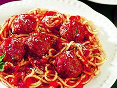 Italian Meatballs-- Ingredients  1 pkg. Jimmy Dean® Italian or Regular Flavor Pork Sausage Roll  ⅓ cup plain dry bread crumbs  ¼ cup finely chopped onion  ¼ cup (1 ounce) grated Parmesan cheese  1 egg, lightly beaten  ¼ teaspoon ground black pepper
