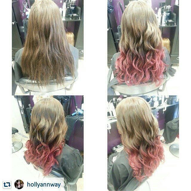 "4 Likes, 1 Comments - Toronto Colourist & Stylist (@hollyshairaffair) on Instagram: ""#throwback #ombre """