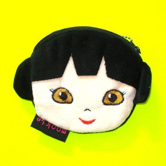 Punk Rock Girl Coin Purse  https://www.etsy.com/ca/listing/293303505/punk-rock-girl-kawaii-kyuuto-black-hair