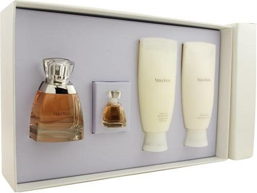 I LOVE Vera Wang fragrance.  I was so happy to get this gift set a great price!! The delivery was super speedy as well.Vera Wang, 13 Ounce Minis, Parfum Sprays, Sets Eau De, Shower Cream, Perfume, Sprays 1 7 Ounce, Lotions 3 4 Ounce, Body Lotions