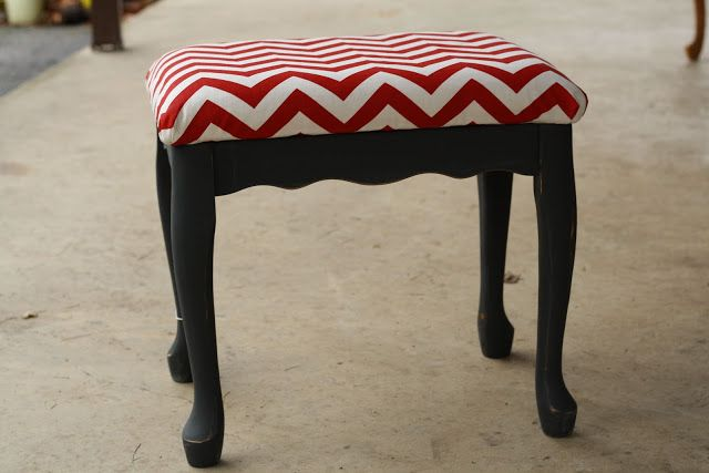 Chevron Stool and Some Weekend Fun