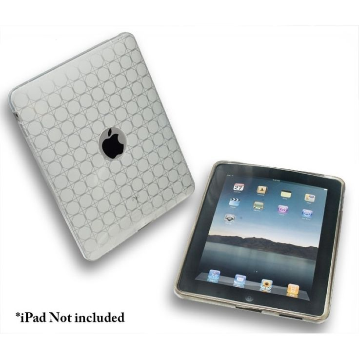Connectland Anti-slip TPU Skin Case For Apple iPad 1st Generation #1943755