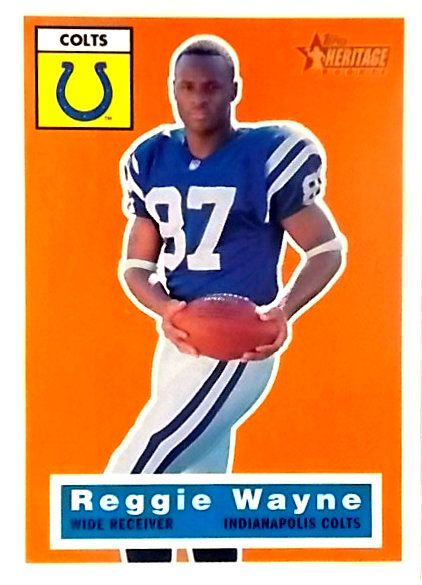 WHICHAMAJIGGERS - REGGIE WAYNE ~ 2001 HERITAGE ~ ROOKIE CARD ~ INDIANAPOLIS COLTS, $9.95 (http://www.whichamajiggers.com/reggie-wayne-2001-heritage-rookie-card-indianapolis-colts/)