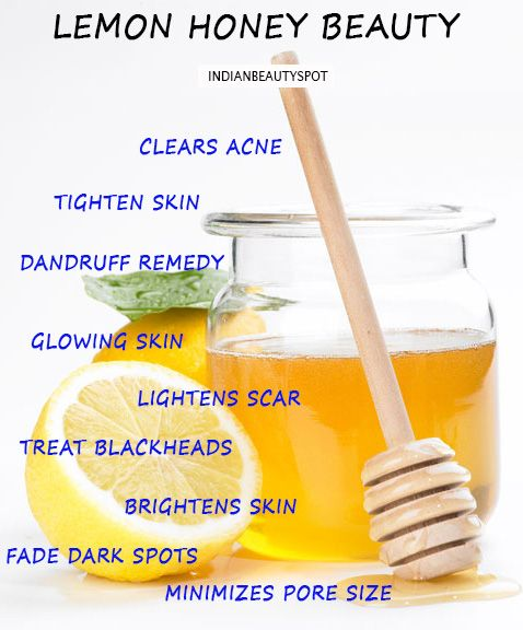 Benefits of the honey lemon: - Clears acne - Gentle cleansing agent - Dries out pimple - Minimizes pore size - Smooths skin - Reduces redness and instantly soothes irritation - Makes skin glow - Relieves dryness and even flaking - Honey is a humectant so it hydrates skin - Brightens skin - Evens out skin tone ( due to sun damage or blemishes) and helps scarring - The bacteria cannot live in an environment covered in honey; due to honeys antiseptic qualities