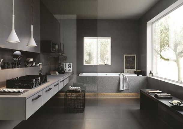 Moderne badkamer inspiratie | Heeft u een betrouwbare vakman nodig voor uw badkamer ga dan naar www.Klusopmaat.nl!