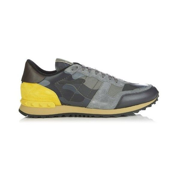 Valentino Rockrunner camouflage print trainers 7 309 010