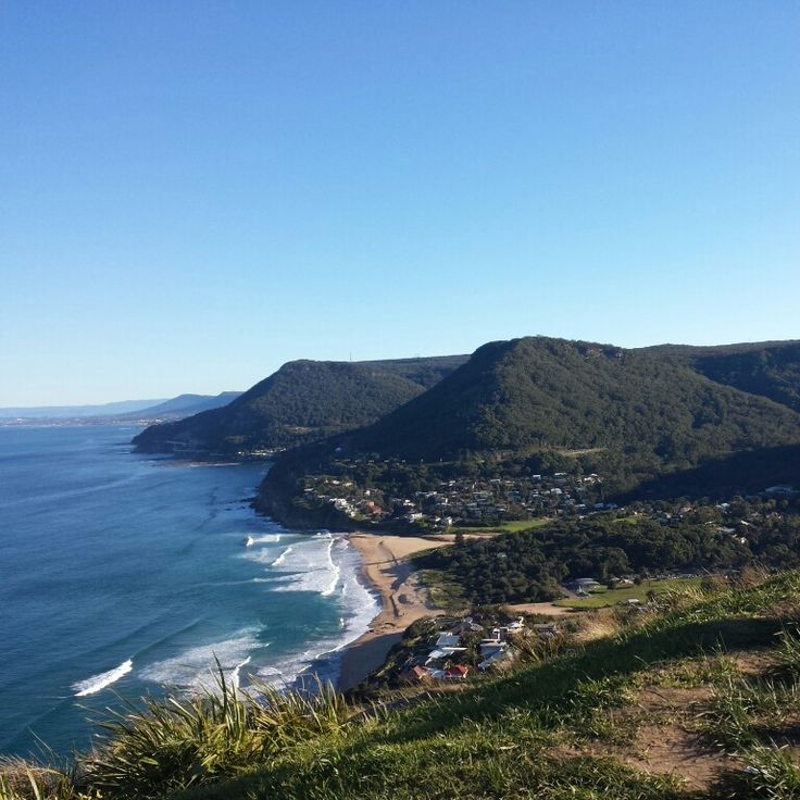 The lookout at Stanwell Tops, the best way to escape CBD.