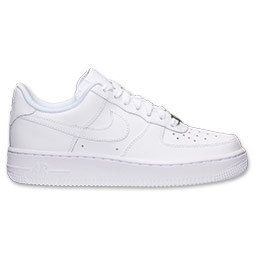 NEW!!  Blinged Nike White Air Force 1 Low Girls' / Women's