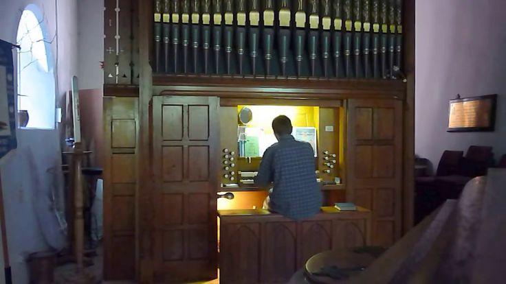 All Heaven Declares - pipe organ, St Peter's Church, Mevagissey