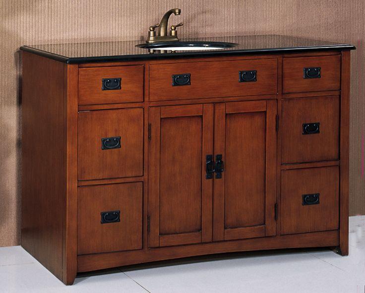 mission style kitchen  mission vanities signaturehardware